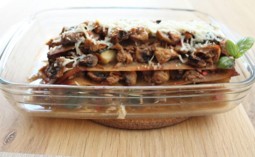 Koolhydraatarme tonijn lasagne