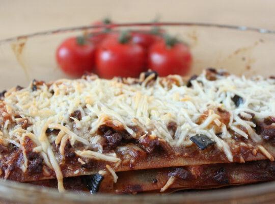 Lasagne bolognese koolhydraatarm