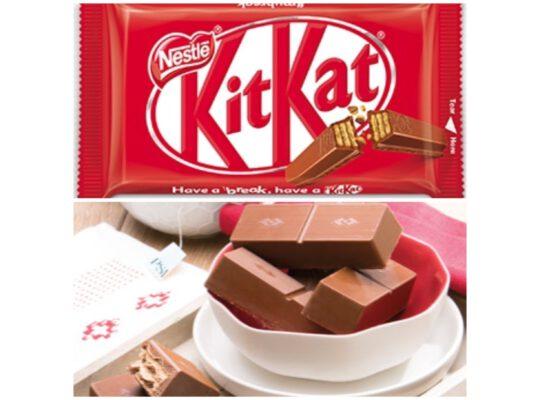 Kit Kat V S melk chocolade chunk